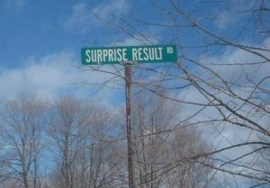 surprise result road by dougtone