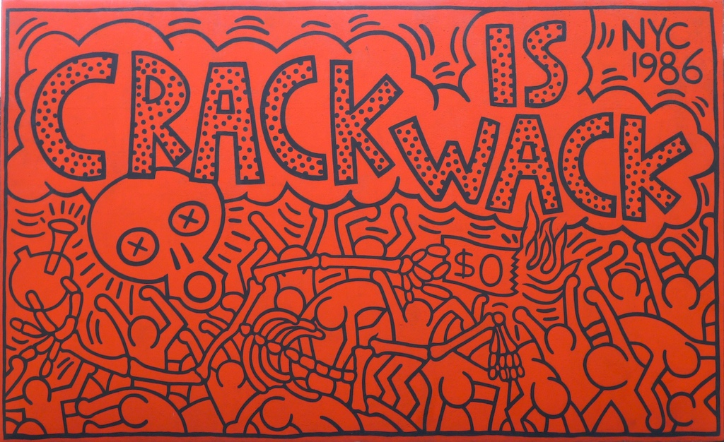 Crack is wack addiction recovery news for Crack is wack mural
