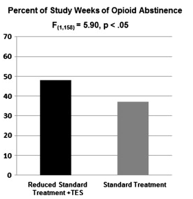 Web based behavioral treatment for substance use disorders as a partial replacement of standard methadone maintenance treatment