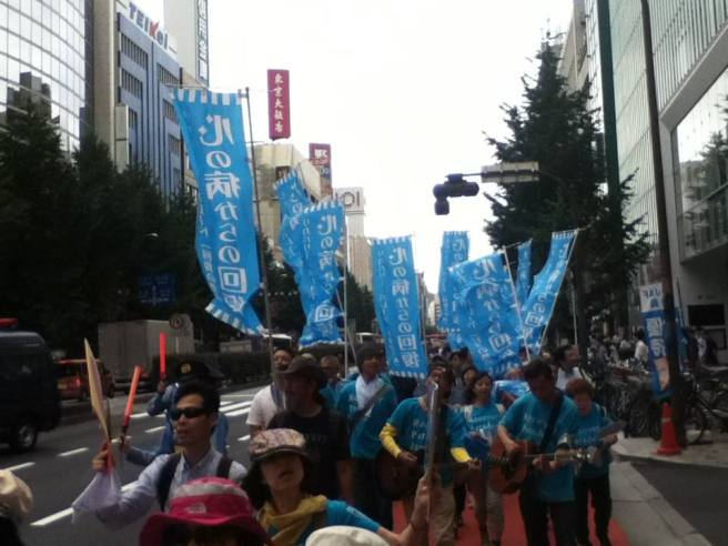 2013 Recovery Parade Tokyo 2