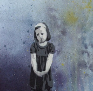 sad girl by .indigo
